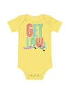 Low Flow Llamas Baby Short Sleeve One Piece