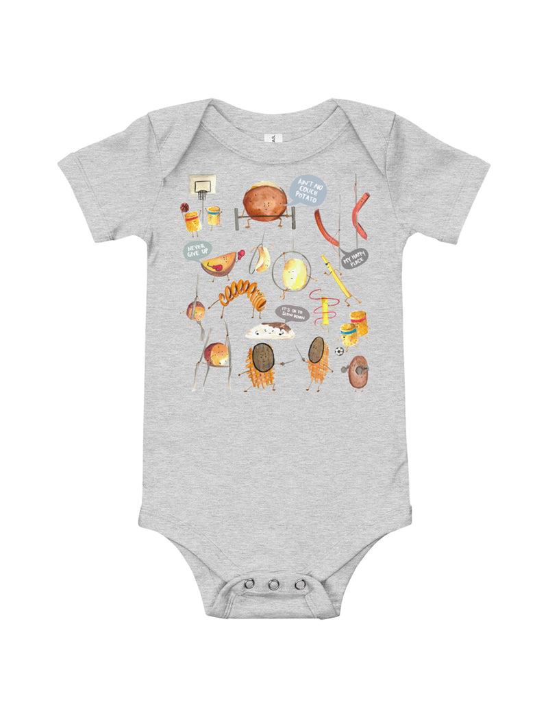 Potatoes Baby Short Sleeve One Piece