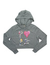 High on Heels Fleece Zip Up Hoodie