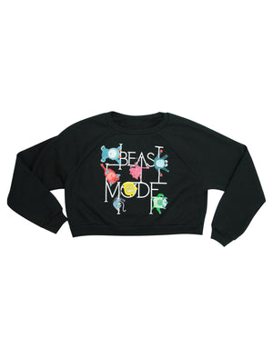 Beast Mode Cropped Fleece Sweatshirt