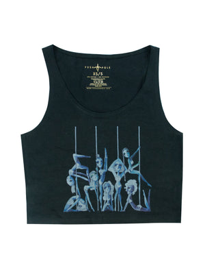 Pole Sisters Cropped Tank