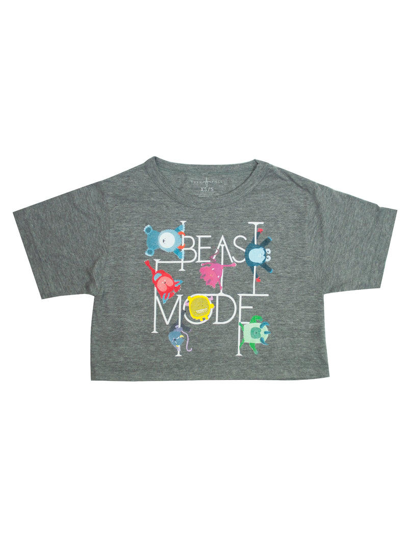 Beast Mode Cropped Tee