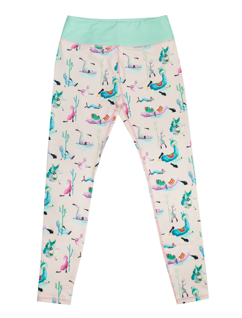 Low Flow Llamas Full Length Leggings