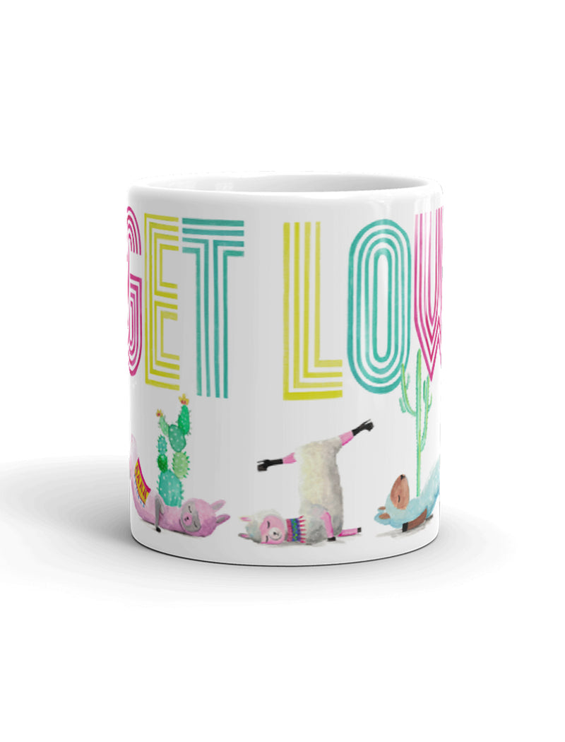 Low Flow Llamas Mug