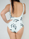 Poling Pandas Bodysuit One Piece Swim