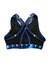 Beast Mode Galaxy Cross Mesh Bra
