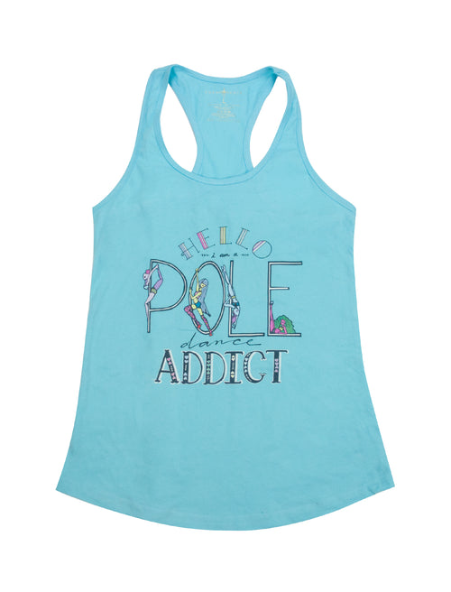 Pole Dancing Addict Racerback Tank