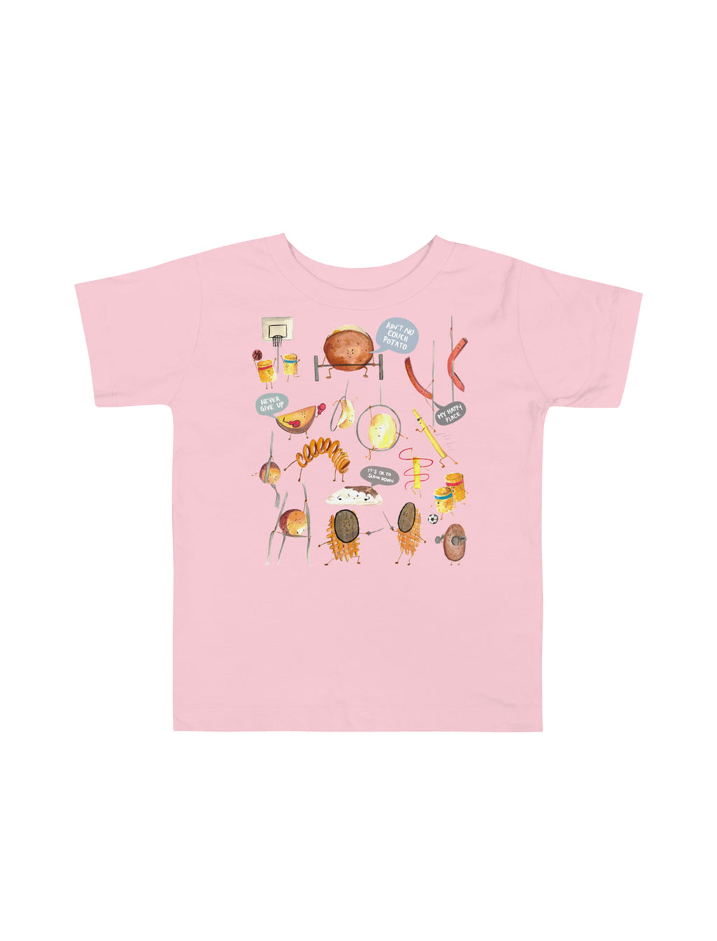 Potatoes Toddler Short Sleeve T-Shirt