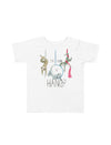 Circus Sloths Toddler Short Sleeve T-Shirt