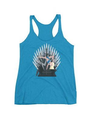 GoT Mother of Dragontails Pole Dancing Racerback Tank