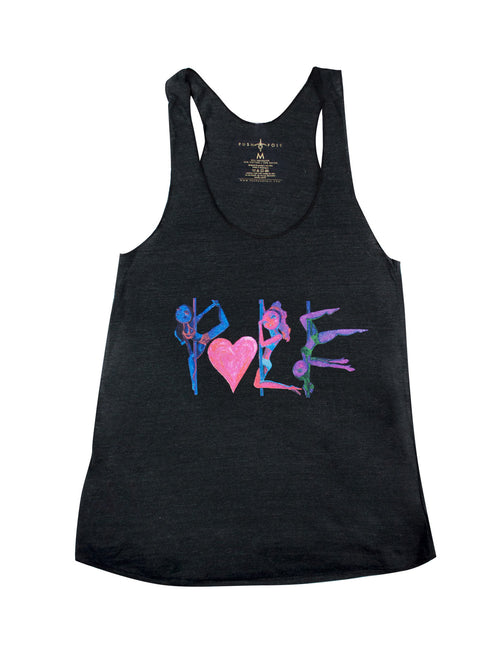 Pole Love Electric Tri-Blend Tank