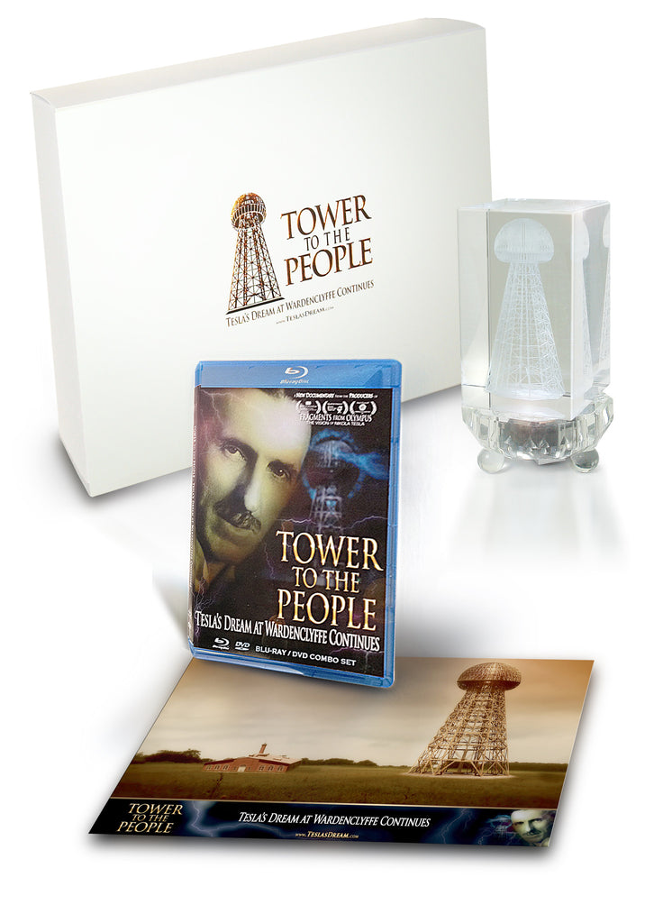 TOWER TO THE PEOPLE- Tesla's Dream Collector Set
