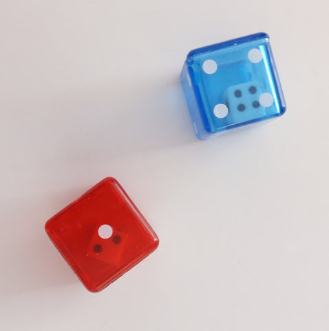 Pedagogical resources: double dices.
