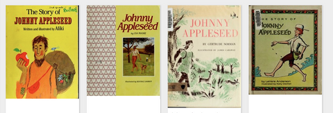 Varias versiones de la historia de Johnny Appleseed