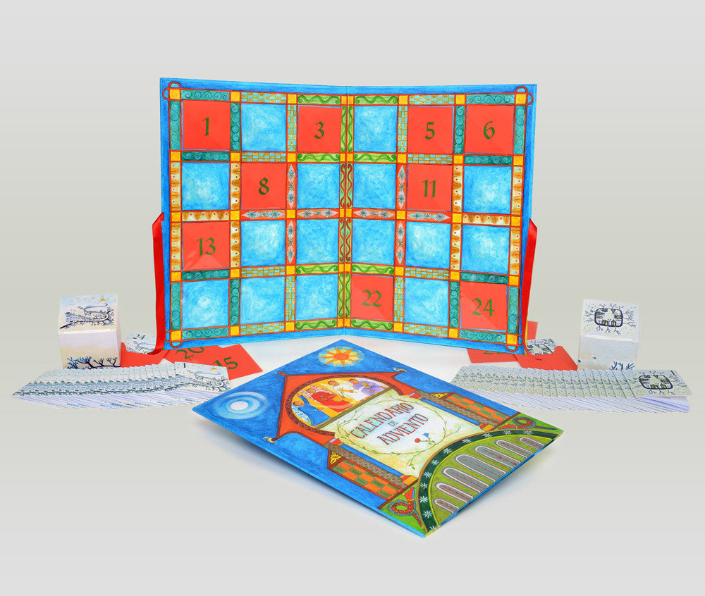 Set completo del calendario de Adviento