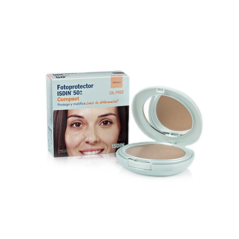 Fotoprotector Isdin Compacto Bronce SPF 50+, Isdin - Labrís