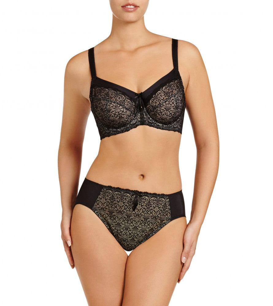 Delicate Lace Bra - Sheer Essentials Lingerie & Swim