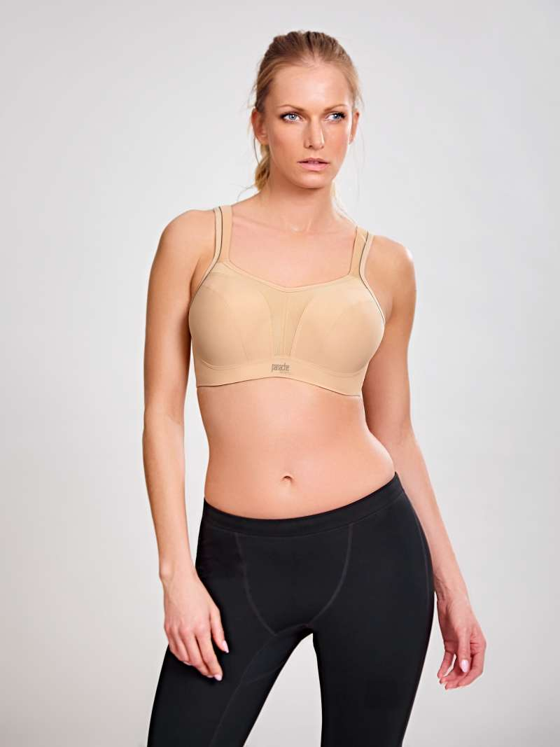 Wired Sports Bra - Nude - Sheer Essentials Lingerie & Swim