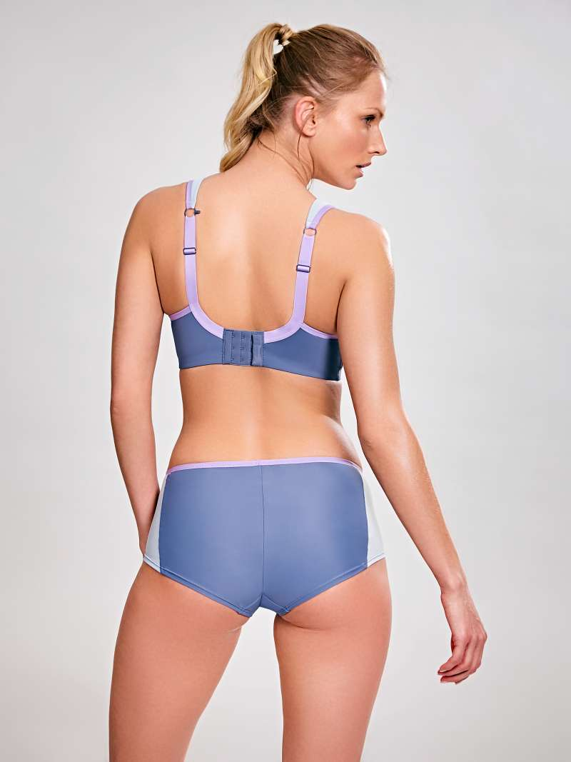 Wired Sports Bra - Grey - Sheer Essentials Lingerie & Swim