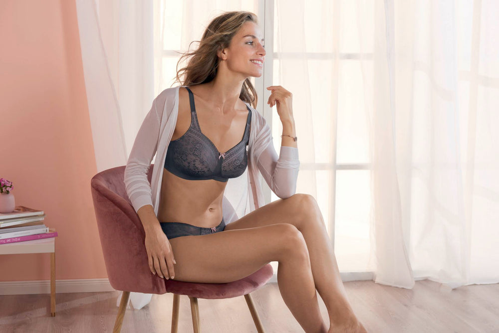 FLEUR - Wire-free Mastectomy Bra - Sheer Essentials Lingerie & Swim