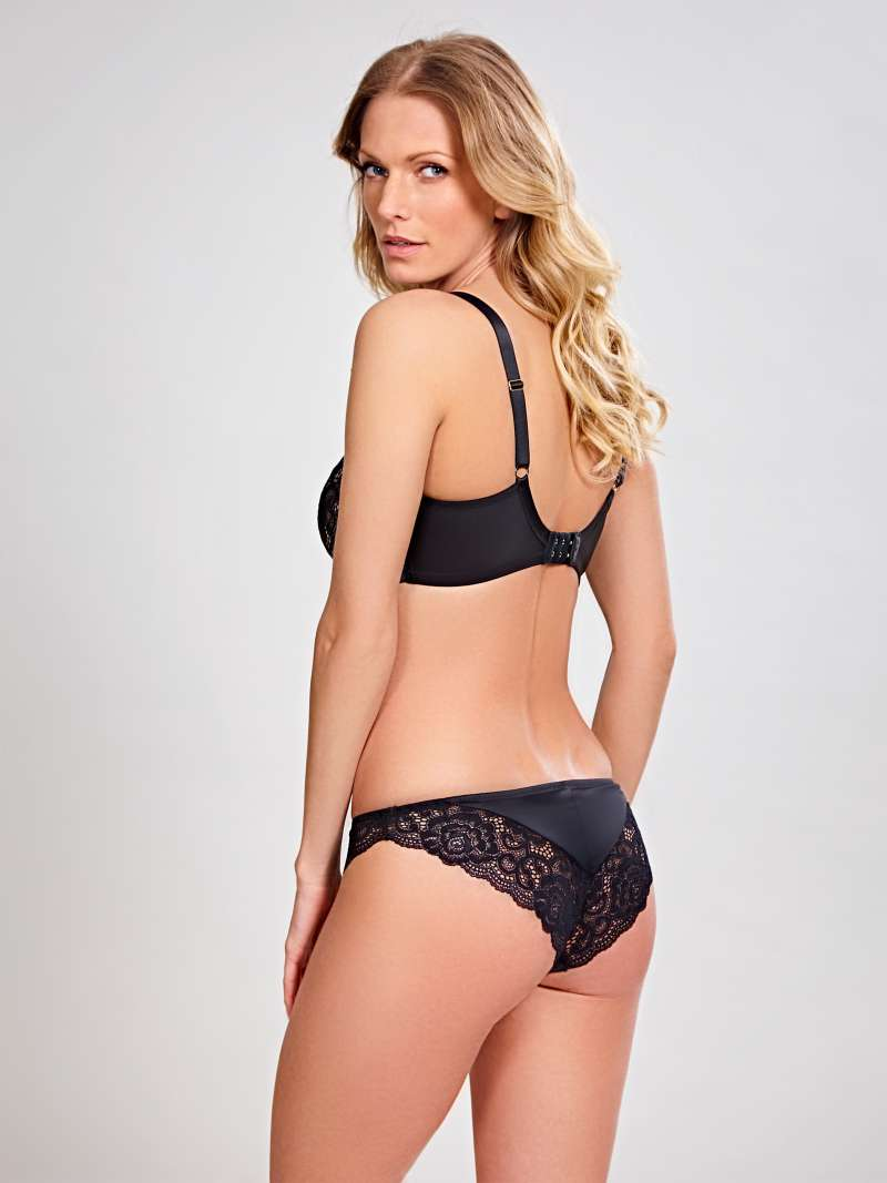 Quinn Balconet - Black - Sheer Essentials Lingerie & Swim