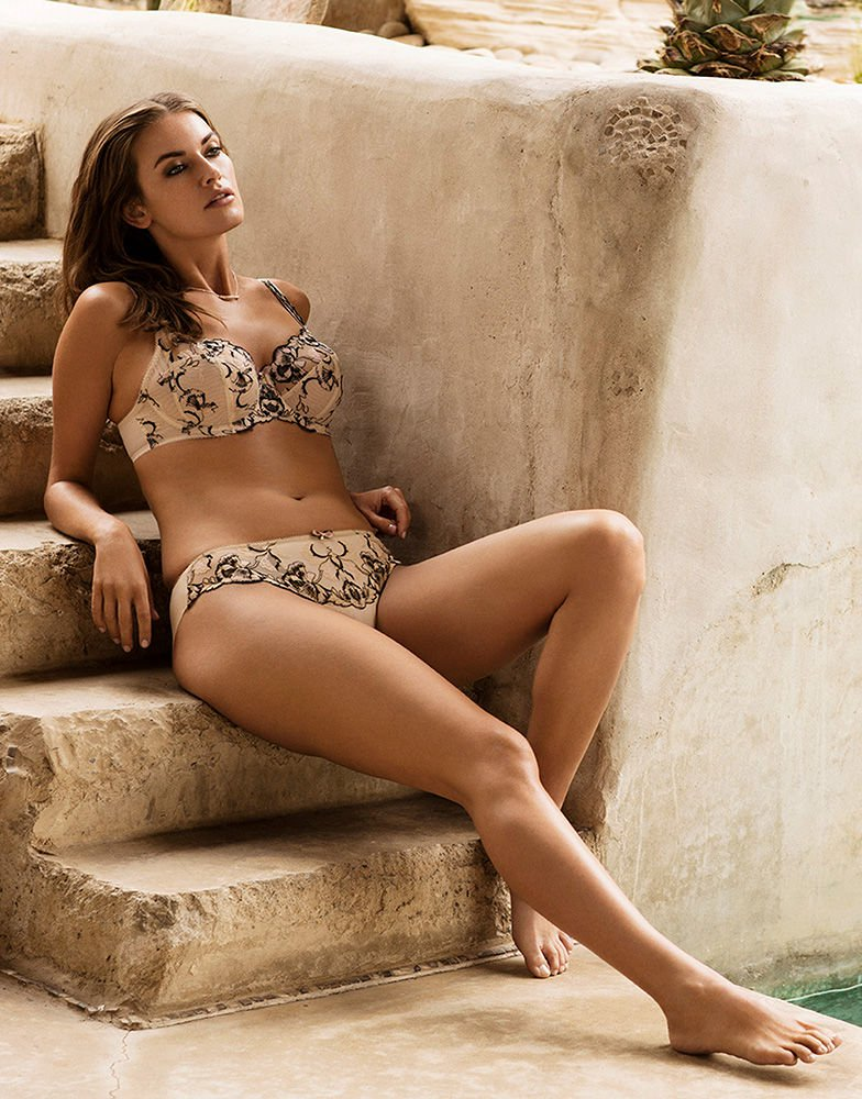 Angelina UW Bra - Cafe Au Lait - Sheer Essentials Lingerie & Swim