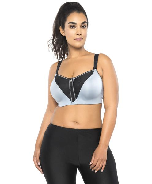 Zip Front Sports Bra - Sheer Essentials Lingerie & Swim