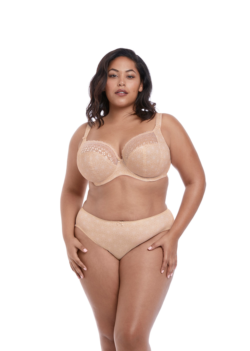Kim UW Plunge - Nude - Sheer Essentials Lingerie & Swim