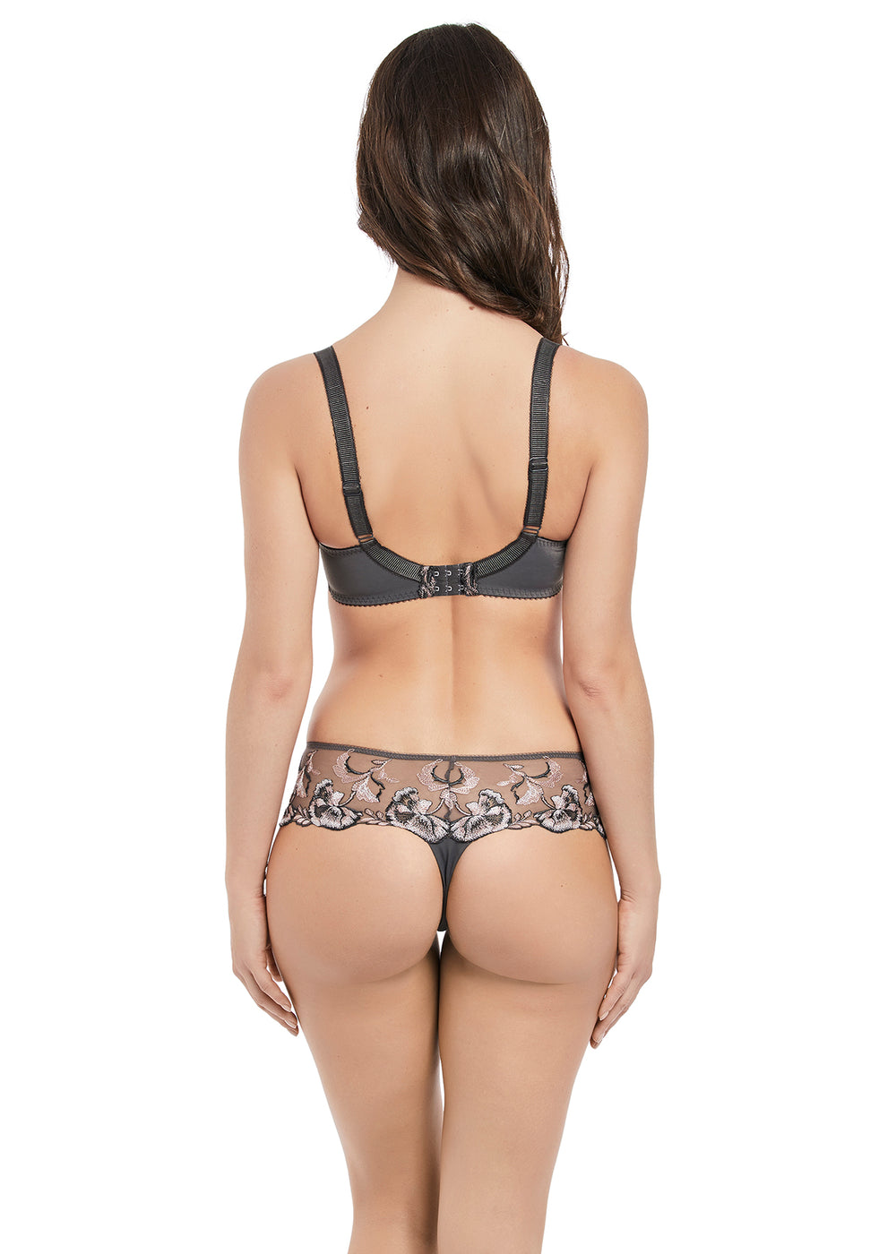 Angelina Thong - Sheer Essentials Lingerie & Swim