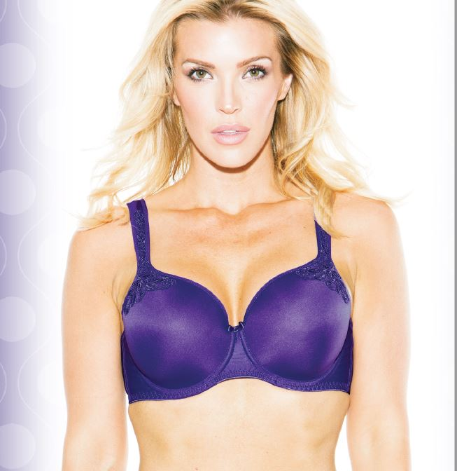 Maxine T-Shirt Bra - Violet - Sheer Essentials Lingerie & Swim