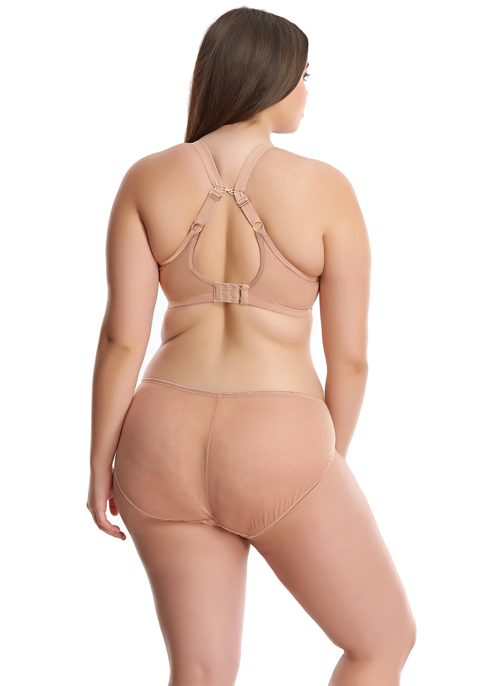 Matilda Plunge - Nude - Sheer Essentials Lingerie & Swim