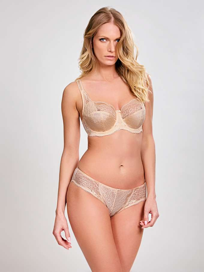 Clara Full Cup - Nude - Sheer Essentials Lingerie & Swim