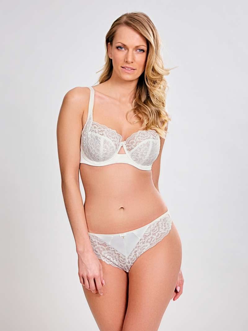 Quinn Balconet - Ivory - Sheer Essentials Lingerie & Swim