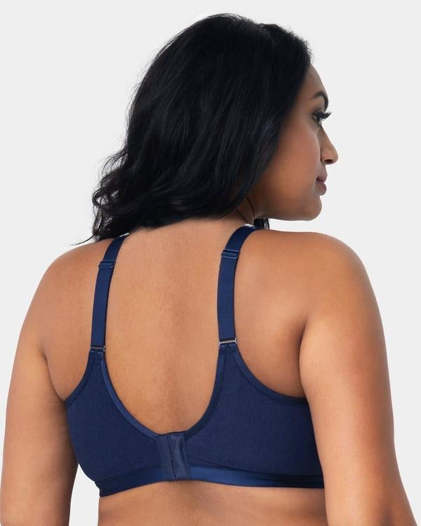 Cotton Luxe Wire Free - Navy