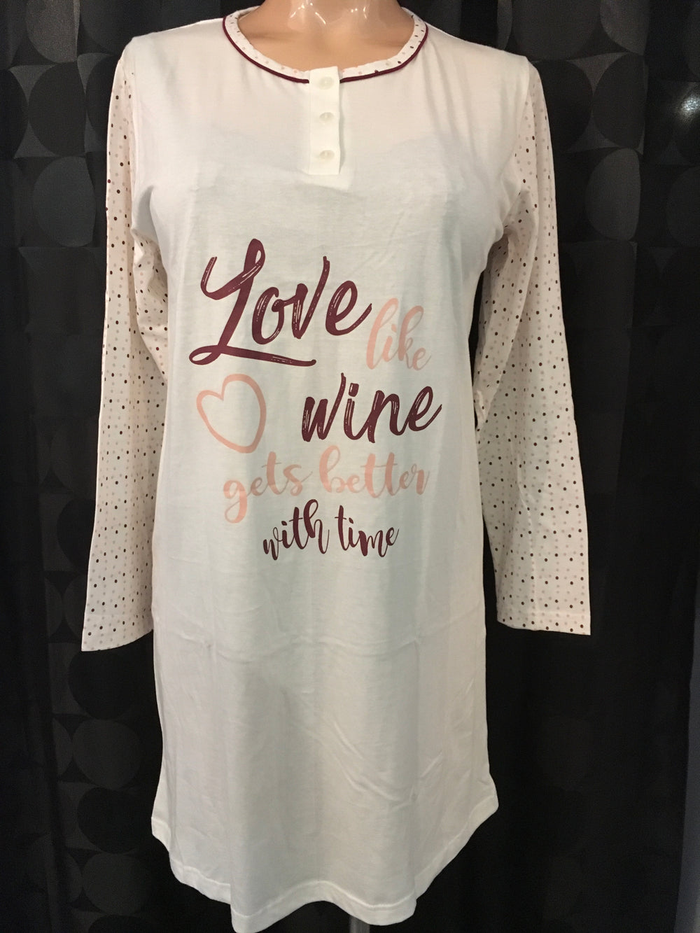 Love is Wine Gown