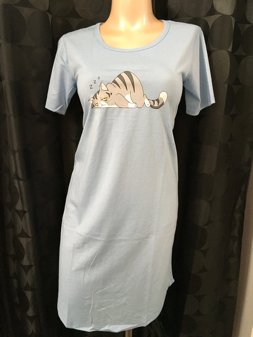 Sleepy  Cat Sleepshirt