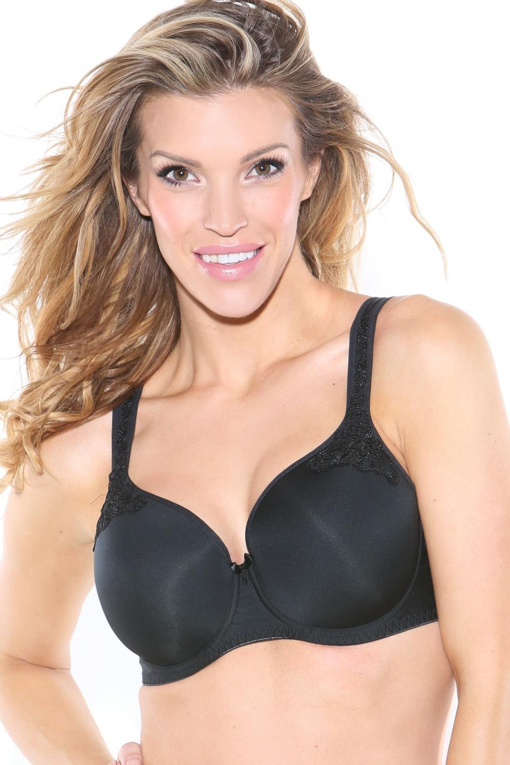 Maxine T-Shirt Bra - Black - Sheer Essentials Lingerie & Swim