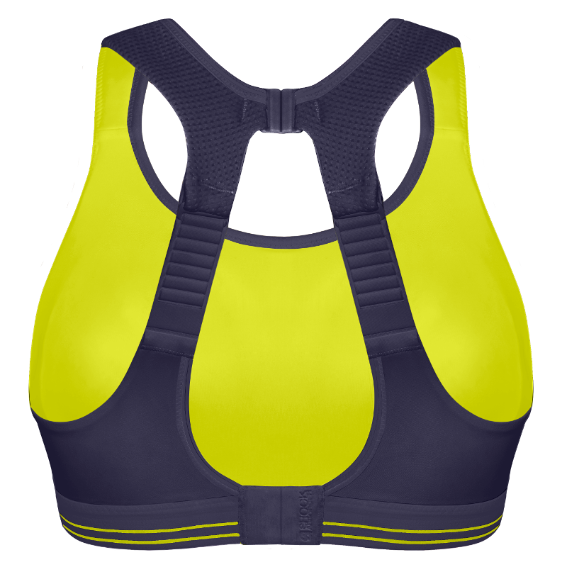 Ultimate Run Bra - Summer Fun Blue