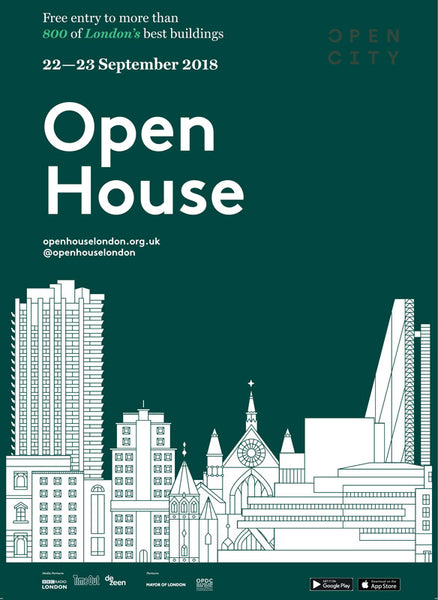 Open House London Weekend 2018 A2 Poster