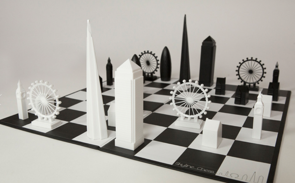 Skyline Chess Set