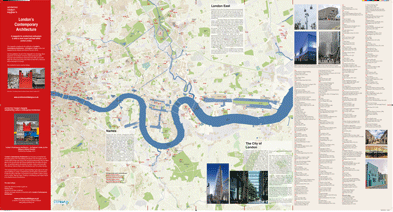 London's Contemporary Architecture Map Guide