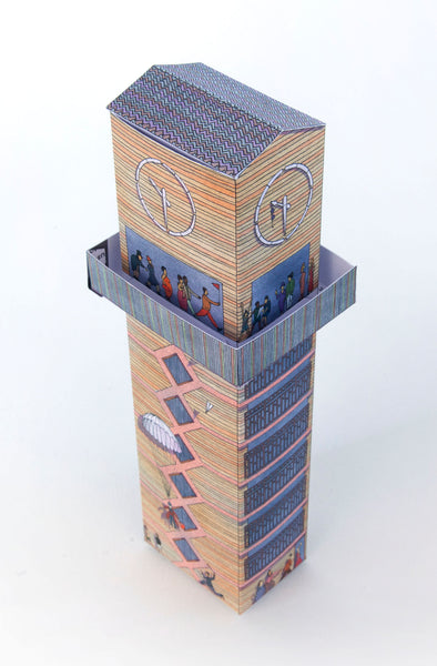 Chrisp Street Clock Tower Model
