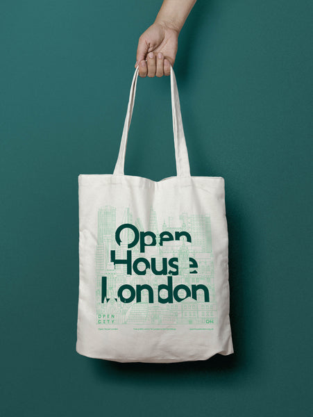 Open House London Tote Bags