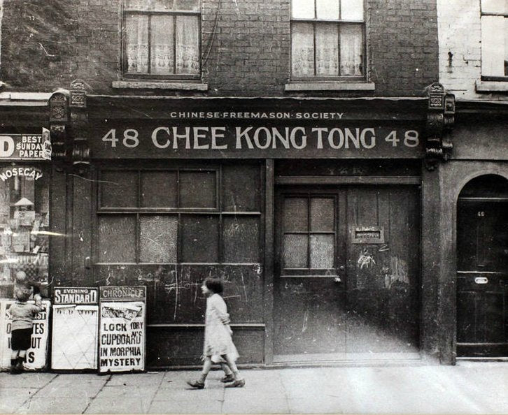 Colonial Histories: London's forgotten Chinatown Walking Tour - Saturday 7 November 2020 3 pm