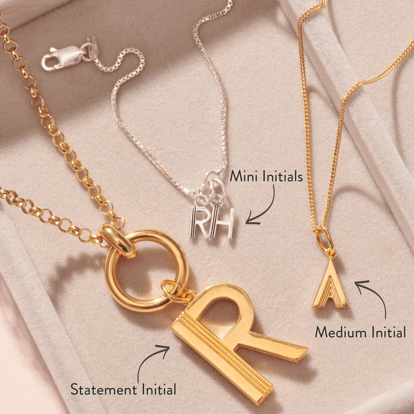 Mini and Me Necklace - Gold