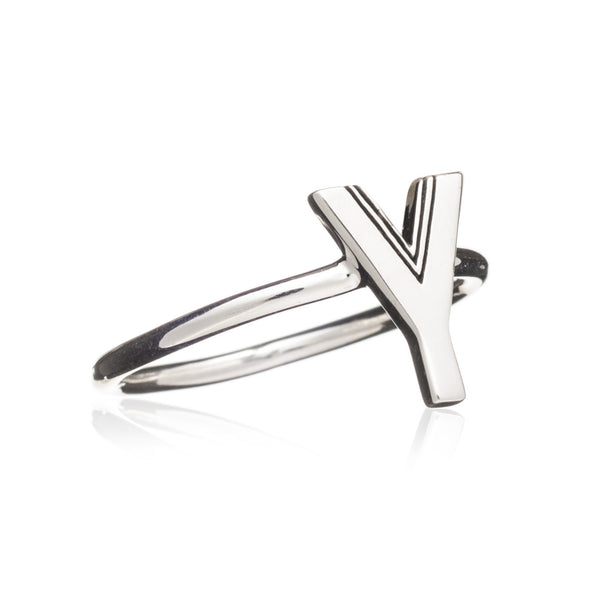 Y Initial Ring - Adjustable