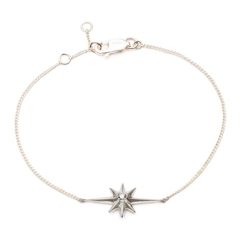 Shooting Star Diamond Bracelet
