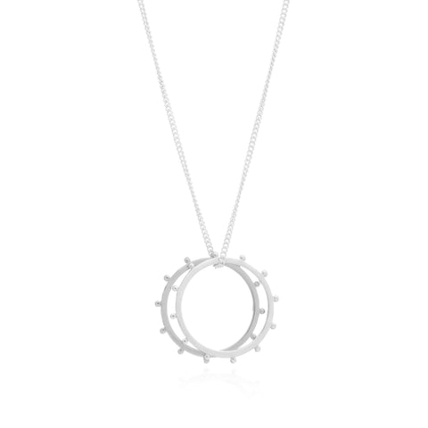Punk Rings Necklace