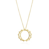 Punk Rings Necklace - Rachel Jackson London