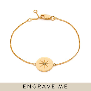 Birth Star Bracelet - Gold